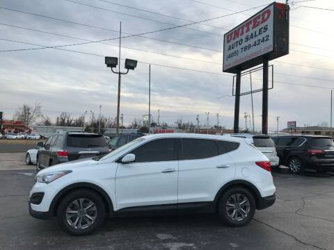 2016 Hyundai Santa Fe Sport for sale at United Auto Sales in Oklahoma City OK