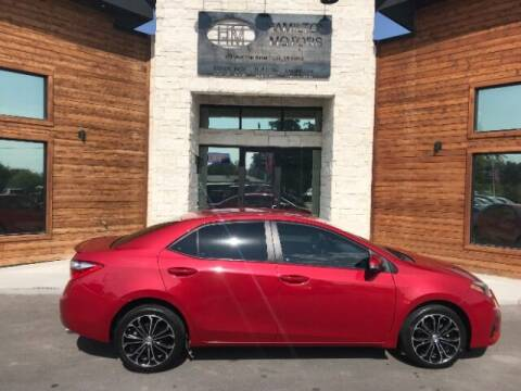2016 Toyota Corolla for sale at Hamilton Motors in Lehi UT