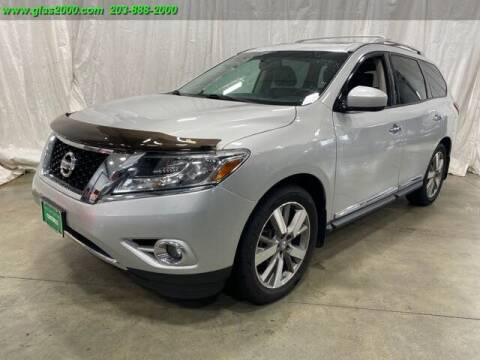 2015 Nissan Pathfinder for sale at Green Light Auto Sales LLC in Bethany CT