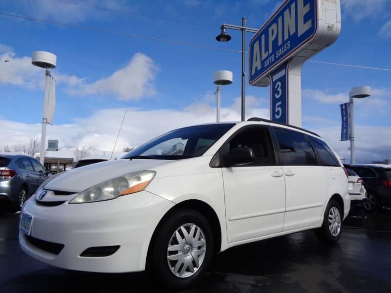 2007 Toyota Sienna for sale at Alpine Auto Sales in Salt Lake City UT