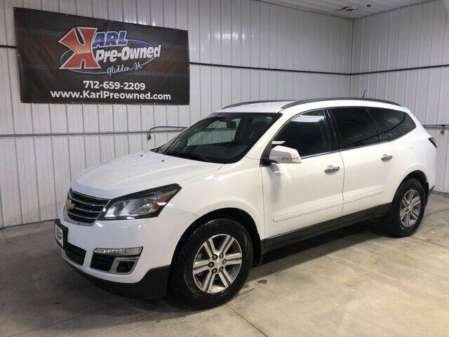 2016 Chevrolet Traverse for sale at Karl Pre-Owned in Glidden IA