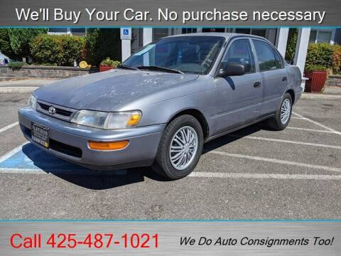 1997 Toyota Corolla for sale at Platinum Autos in Woodinville WA