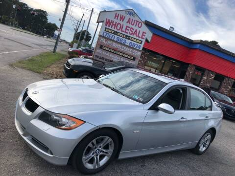 2008 BMW 3 Series for sale at HW Auto Wholesale in Norfolk VA