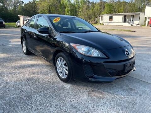 2012 Mazda MAZDA3 for sale at AUTO WOODLANDS in Magnolia TX