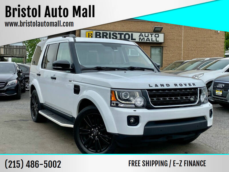 2016 Land Rover LR4 for sale at Bristol Auto Mall in Levittown PA