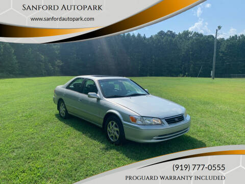 2000 Toyota Camry for sale at Sanford Autopark in Sanford NC