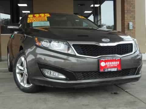 2012 Kia Optima for sale at Arandas Auto Sales in Milwaukee WI