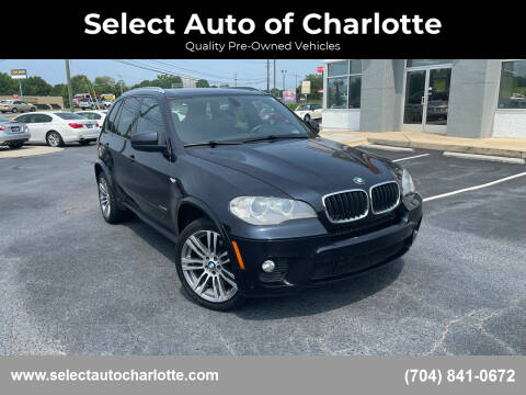 2012 BMW X5 for sale at Select Auto of Charlotte in Matthews NC