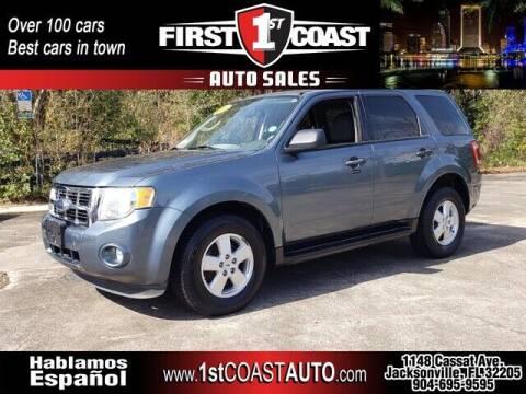 2010 Ford Escape for sale at 1st Coast Auto -Cassat Avenue in Jacksonville FL