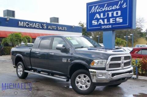 2016 RAM Ram Pickup 2500 for sale at Michael's Auto Sales Corp in Hollywood FL