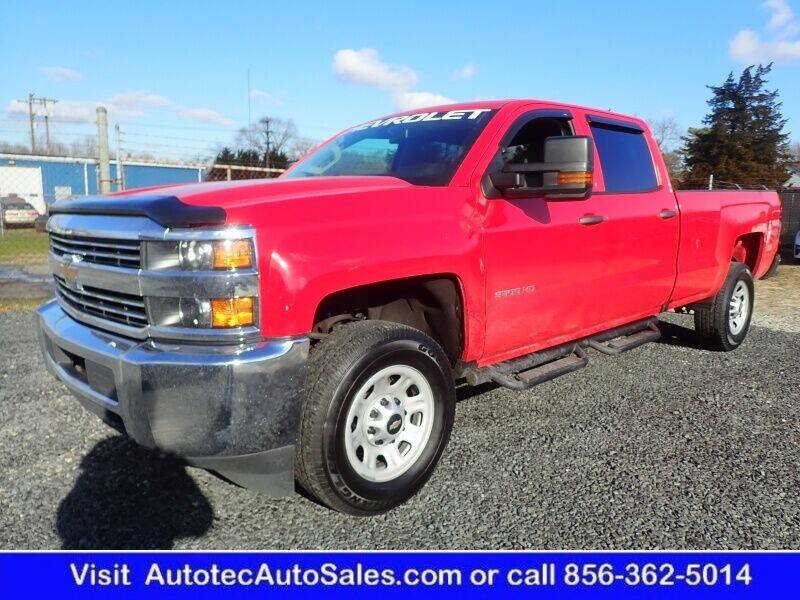 2018 Chevrolet Silverado 3500HD for sale at Autotec Auto Sales in Vineland NJ