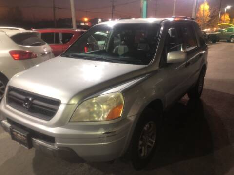 2003 Honda Pilot for sale at Washington Auto Group in Waukegan IL
