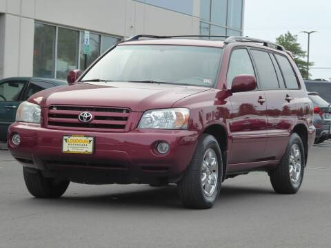 2007 Toyota Highlander for sale at Loudoun Motor Cars in Chantilly VA