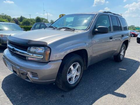2006 Chevrolet TrailBlazer for sale at Auto Tech Car Sales and Leasing in Saint Paul MN