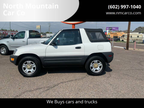 1998 Toyota RAV4 for sale at North Mountain Car Co in Phoenix AZ