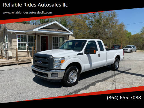 2016 Ford F-250 Super Duty for sale at Reliable Rides Autosales llc in Greer SC