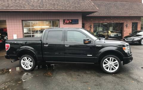2013 Ford F-150 for sale at Pat's Auto Sales, Inc. in West Springfield MA