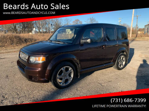 2007 Honda Element for sale at Beards Auto Sales in Milan TN