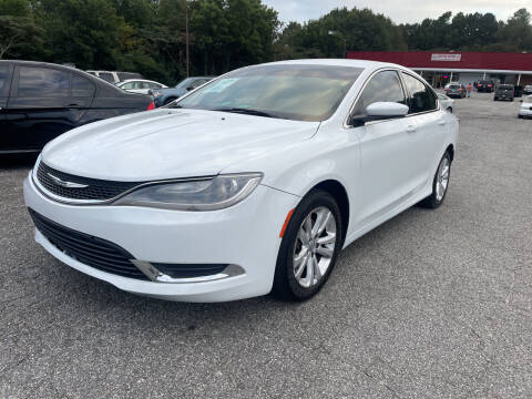 2015 Chrysler 200 for sale at Certified Motors LLC in Mableton GA