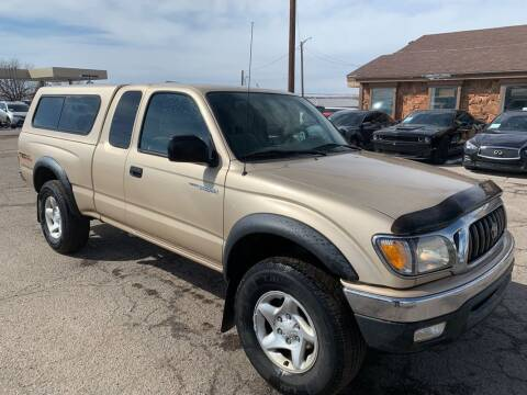 2001 Toyota Tacoma for sale at BERKENKOTTER MOTORS in Brighton CO