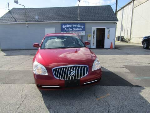 2010 Buick Lucerne for sale at SCHERERVILLE AUTO SALES in Schererville IN