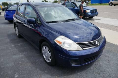 2007 Nissan Versa for sale at J Linn Motors in Clearwater FL