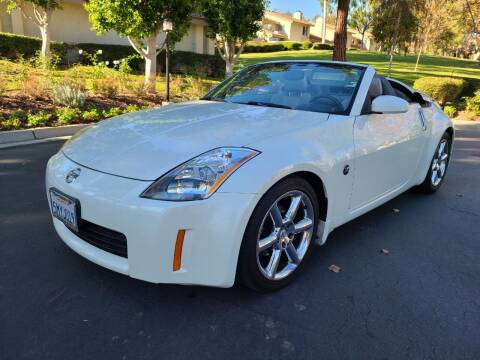 2005 Nissan 350Z for sale at E MOTORCARS in Fullerton CA