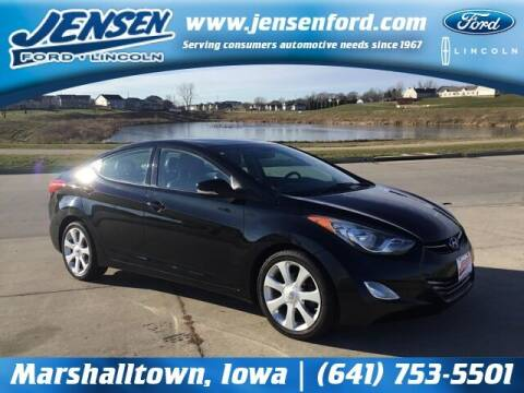 2013 Hyundai Elantra for sale at JENSEN FORD LINCOLN MERCURY in Marshalltown IA