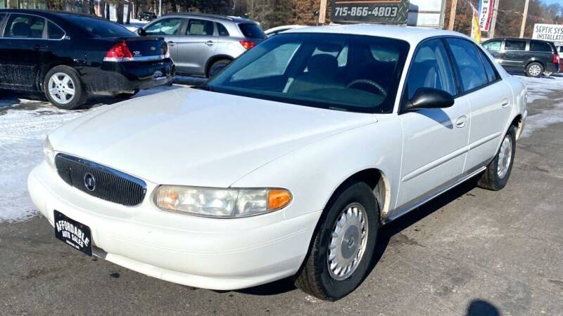 2004 Buick Century for sale at Affordable Auto Sales in Webster WI