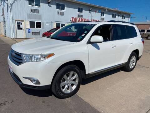 2011 Toyota Highlander for sale at De Anda Auto Sales in South Sioux City NE