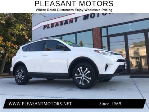 2017 Toyota RAV4 for sale at Pleasant Motors in New Bedford MA