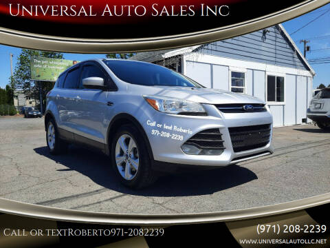 2013 Ford Escape for sale at Universal Auto Sales Inc in Salem OR