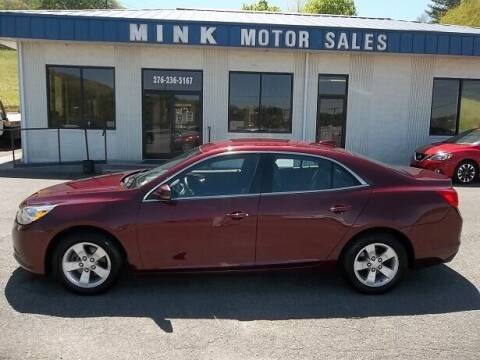 2015 Chevrolet Malibu for sale at MINK MOTOR SALES INC in Galax VA