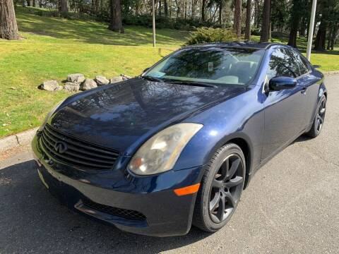2004 Infiniti G35 for sale at All Star Automotive in Tacoma WA