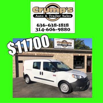 2016 RAM ProMaster City Cargo for sale at CRUMP'S AUTO & TRAILER SALES in Crystal City MO