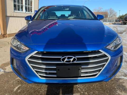 2018 Hyundai Elantra for sale at Minuteman Auto Sales in Saint Paul MN