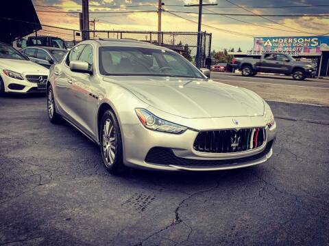 2014 Maserati Ghibli for sale at First Union Auto in Seattle WA
