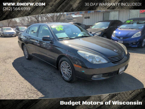 2004 Lexus ES 330 for sale at Budget Motors of Wisconsin in Racine WI