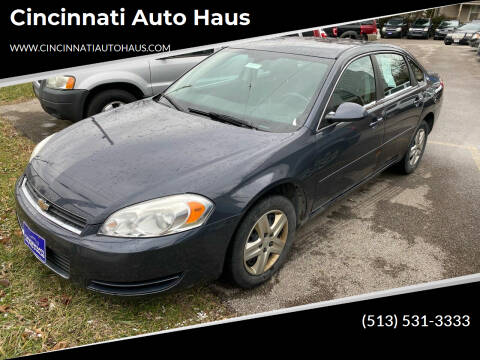 2008 Chevrolet Impala for sale at Cincinnati Auto Haus in Cincinnati OH