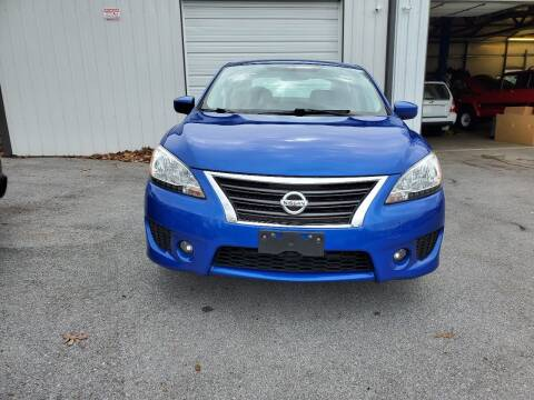 2013 Nissan Sentra for sale at DISCOUNT AUTO SALES in Johnson City TN