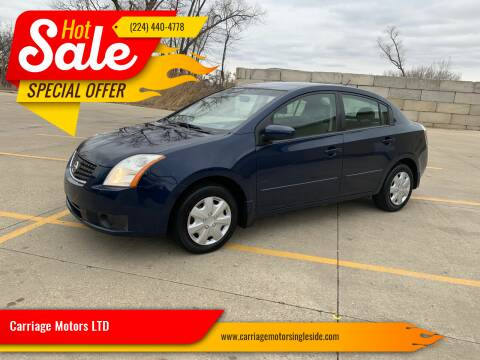 2007 Nissan Sentra for sale at Carriage Motors LTD in Ingleside IL