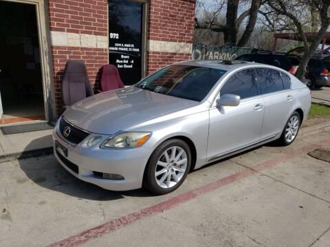 2007 Lexus GS 350 for sale at El Jasho Motors in Grand Prairie TX