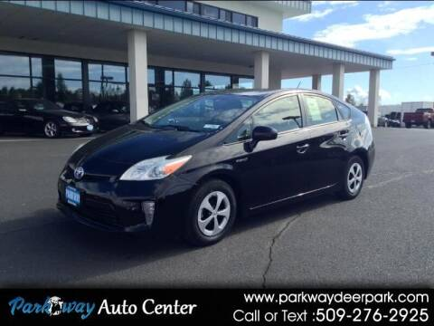 2012 Toyota Prius for sale at PARKWAY AUTO CENTER AND RV in Deer Park WA