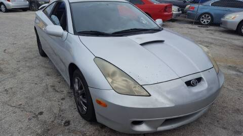 2002 Toyota Celica for sale at Fantasy Motors Inc. in Orlando FL