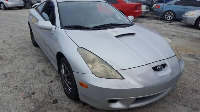 2002 Toyota Celica for sale at Fantasy Motors Inc. in Orlando FL