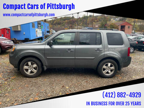 2009 Honda Pilot for sale at Compact Cars of Pittsburgh in Pittsburgh PA
