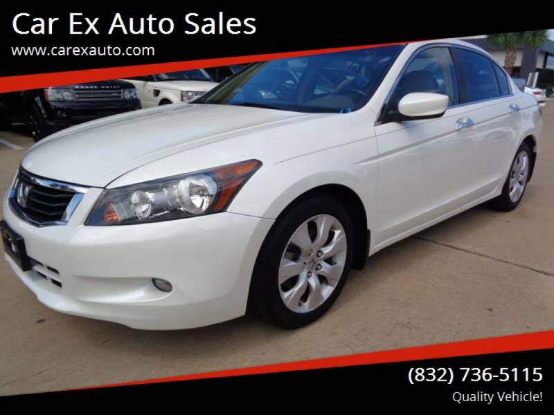 2008 Honda Accord for sale at Car Ex Auto Sales in Houston TX