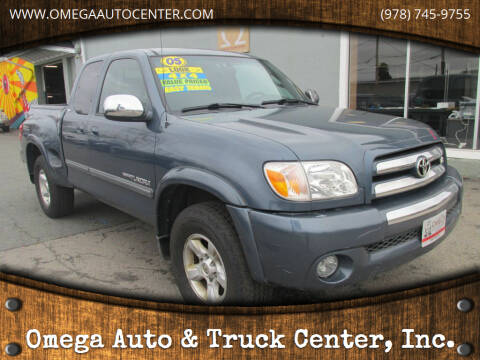 2005 Toyota Tundra for sale at Omega Auto & Truck Center, Inc. in Salem MA