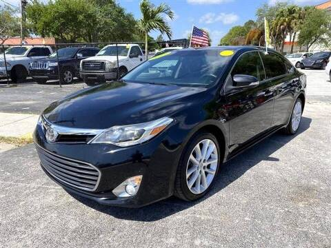 2013 Toyota Avalon for sale at EZ Own Car Sales of Miami in Miami FL