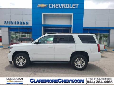 2020 Chevrolet Tahoe for sale at Suburban Chevrolet in Claremore OK